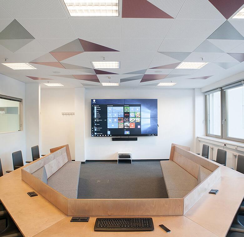 Konferenzmöbel-Design für TOP Radiovermarktung
