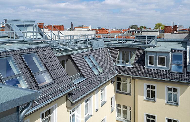 Dachgeschossneubau Berlin Wilmersdorf