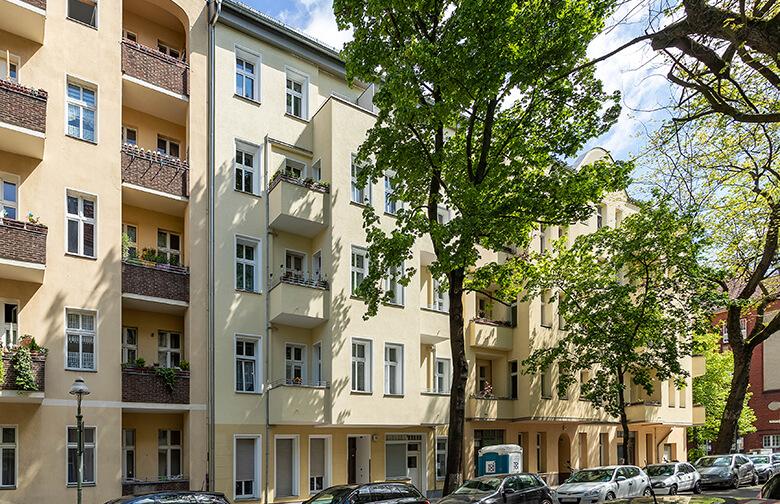 Fassadensanierung Berlin Wilmersdorf – Straßenseite