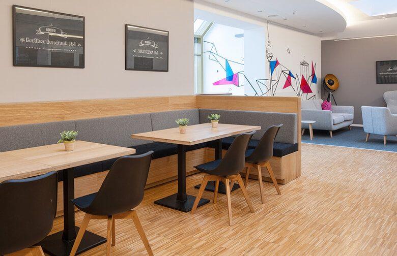 Caféteria-Gestaltung für TOP Radiovermarktung