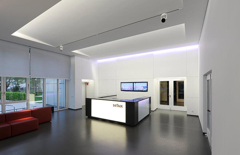 Foyergestaltung bei selux Berlin
