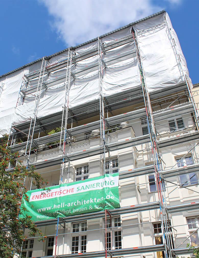 Sanierung und Neubau des Dachgeschosses Berlin Pankow